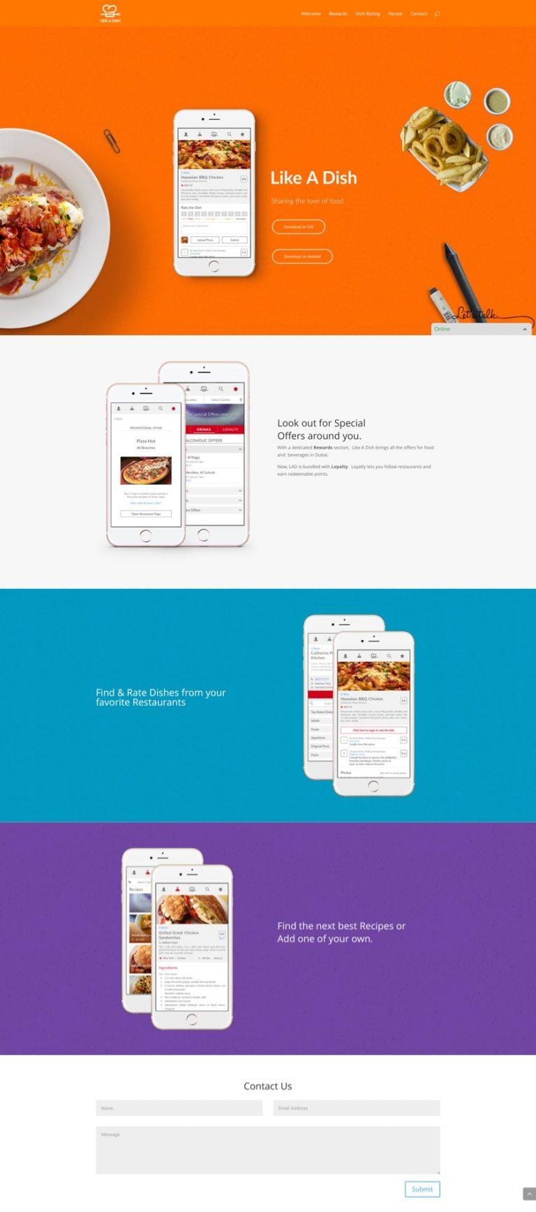 2018 Usa Btm C Fee Proposal Workshop Series: Foodie App - Digital Agency
